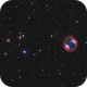 Jones-Emberson 1 als LRGB H-Alpha O III,                                Gottfried Meissner