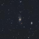 NGC 3718 (Arp 214), NGC 3729, and Hickson 56,                                Madratter