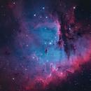 Pacman Nebula (NGC281) details,                                Jose Carballada