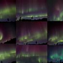 Collection of Aurora from the same evening,                                Erik Guneriussen
