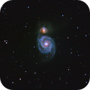 Messier 51 and NGC 5195,                                Manuel Peitsch