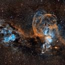 "NGC 3576 and 3603  ""Statue Of Liberty Nebula"" in Hubble Palette,                                Matt Hughes"