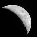 Waxing Crescent Moon,                                Andrew Corkill