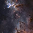 Melotte 15 in IC1805 Heart Nebula in SHO Hubble palette.,                                Alex Dean