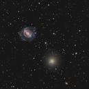 NGC 5846 with NGC 5850,                                Peter Goodhew
