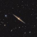 NGC4565 - Needle galaxy,                                Stellario