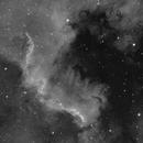 Cygnus Wall in H-alpha,                                alesterre