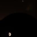 Lune et Jupiter,                                Jul