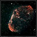 Crescent Nebula - NGC 6888,                                Sid Frede