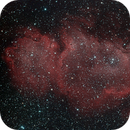 Soul Nebula (IC1848) in NBRGB,                                JDJ