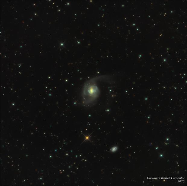 The Peculiar Galaxy NGC 7727,                                Russ Carpenter