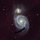 M51 à l'APN,                                Nadir Benhamouda