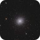 Great Globular Cluster in Hercules - first use of the Evoguide 50ED,                                Michael S.