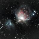 M42 - Nébuleuse d'Orion,                                netnet69