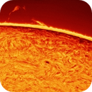 Unconnected Arch Prominence - 18.07.2015,                                Łukasz Sujka