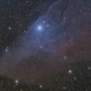 Blue Horse Nebula,                                Diego Cartes
