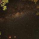 Eclipse lunaire - Parc national d'Etosha,                                Francis Couderc