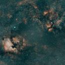 NGC 7000 to IC 1318, HOO,                                Stephen Garretson