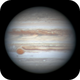 A 3 image animation of the transit of Jupiter's GRS,                                Niall MacNeill
