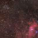 M052 2019 + NGC7635 + KjPn 8,                                antares47110815