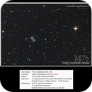 M76 (Little Dumbbell),                                elliottastronomy