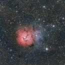 M20 Trifid Nebula,                                Alessandro Pensato