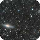 NGC7331 and Stephan's Quintet with Integrated Flux Nebula,                                Elio - fotodistel...