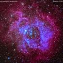 ngc2237 nebulosa  rosetta   nel monocerus                     distanza  5.200    A.L.,                                Carlo Colombo