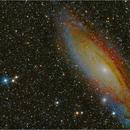 M 31, Andromedargalaxie,                                Eddi