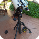 Telescopes 2020-04-11. Intes Micro 715 De Luxe and Takahashi Mewlon 180C on EQ8 pro.,                                Pedro Garcia