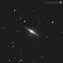 Sombrero Galaxy,                                Jose Manuel