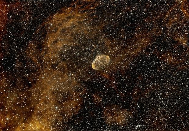 Crescent Nebula,                                gmehal