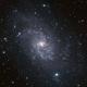 M33 - Galaxie du Triangle,                                David Chiron