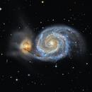 M51 Whirlpool Galaxy,                                Kiko Fairbairn
