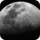 Moon - quick test shot with new scope/camera setup,                                Dave B