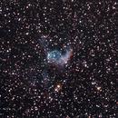NGC2359, Thor's helmet,                                Huang Wei-Ming