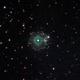 NGC 6543, Cat's Eye Nebula, OHRGB, 9 May 2020,                                David Dearden