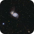 The whirlpool galaxy reworked - M51,                                Markus A. R. Langlotz