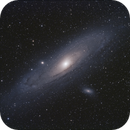 Andromeda Galaxy, M31, with M32, and M110,                                Steven Bellavia