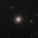 M 13 - Great Globular Cluster in Hercules,                                deppski