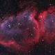 Soul Nebula in Bicolor with LRGB star field,                                Robert Habolin