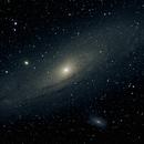 M31, The Andromeda Galaxy,                                 degrbi