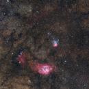 M8 & M20 Wide Field,                                Leonardo Ciuffolotti