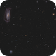NGC 5033 with UGC 8303 and NGC 5002,                                Etienne