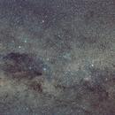 Southern Cross, Coal Sack Nebula widefield,                                Lorenzo Palloni