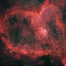IC1805 - The Heart Nebula - OSC,                                Almos Balasi