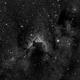 Cave Nebula in HA,                                samlising