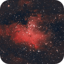 Messier 16: The Eagle Nebula,                                James Schrader