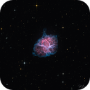 M1 - The Crab Nebula, a Supernova Remnant,                                Jeffrey K Lovelace
