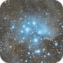 M45 at New Moon,                                FrostByte